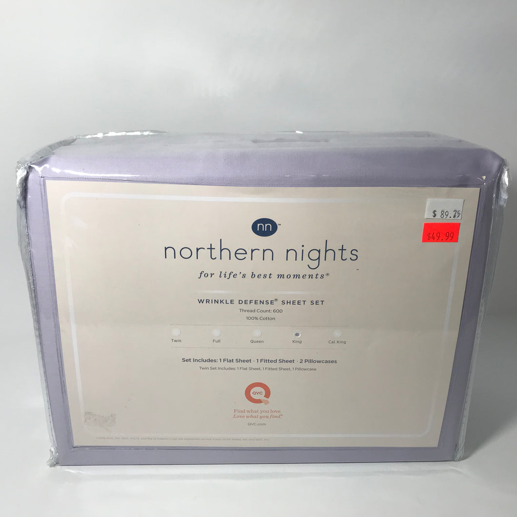 Northern Nights 600TC King Sheets - Outlet Express
