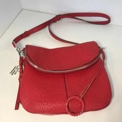 Vince Camuto Lamb Leather Crossbody Bag - Outlet Express