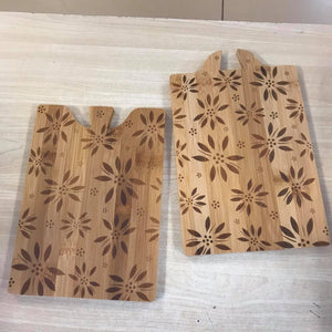 Temp-tations St/2 Bamboo Interlocking Cutting Boards