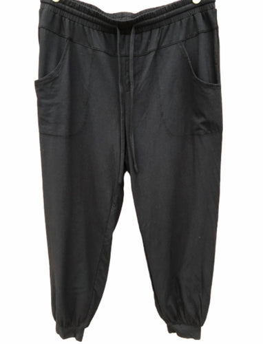 AnyBody Loungewear Cozy Knit Jogger Pants with Seaming Detail -Small Petite