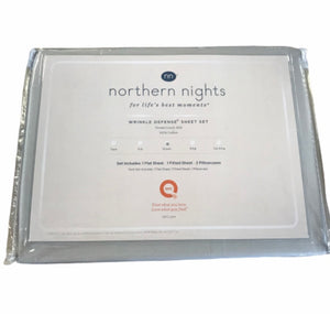 Northern Nights 600TC Wrinkle Defense Queen