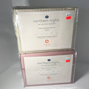 Northern Nights 400TC 6-Piece King Sheets - Outlet Express