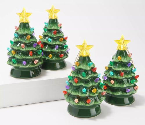 Mr Christmas Nostalgic Tree Ornaments