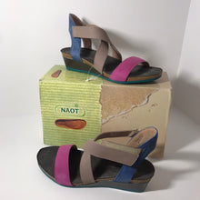 Load image into Gallery viewer, Naot Leather Cross Strap Sandal Size 9-9.5 - Outlet Express
