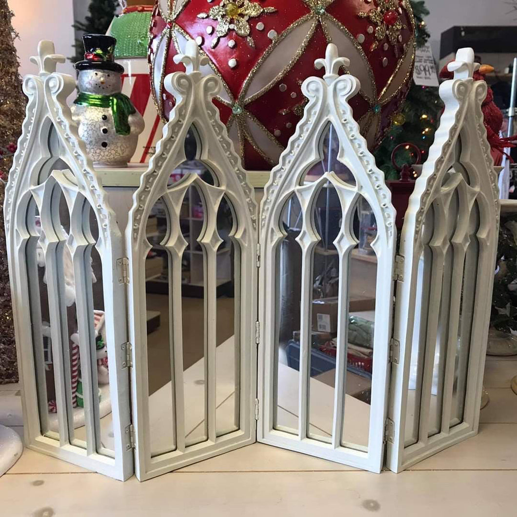 4 Panel Cathedral Mirror