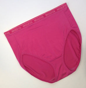 Breezies Nylon Microfiber Hi-Cut Panty - Outlet Express
