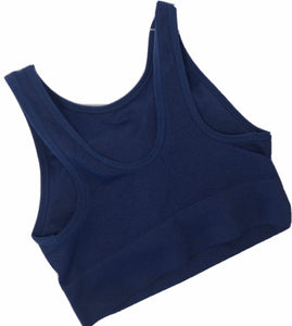 AnyBody Seamless High Neck Ribbed Bra - Outlet Express