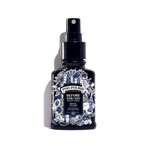 Poo-Pourri Royal Flush Before-You-Go Toilet Spray