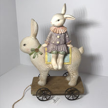 Load image into Gallery viewer, Girl Bunny or Chick Riding Rabbit - Valerie Collection - Outlet Express