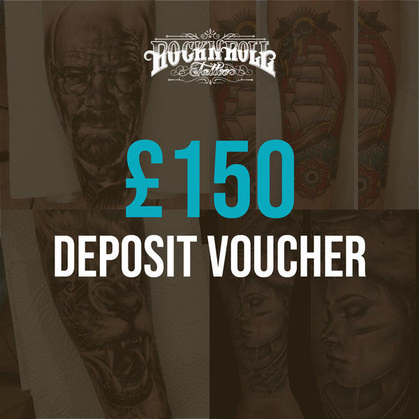 Deposit Vouchers for Full Day Session (£150)