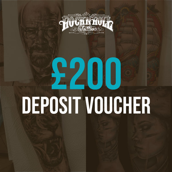 Deposit Vouchers for Full Day Session (£200)