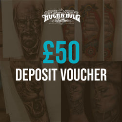 Deposit Vouchers for Any Tattoo Session (£50)