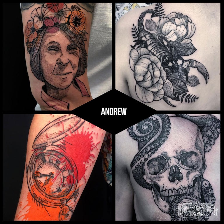 Full day session at Dundee studio with Andrew