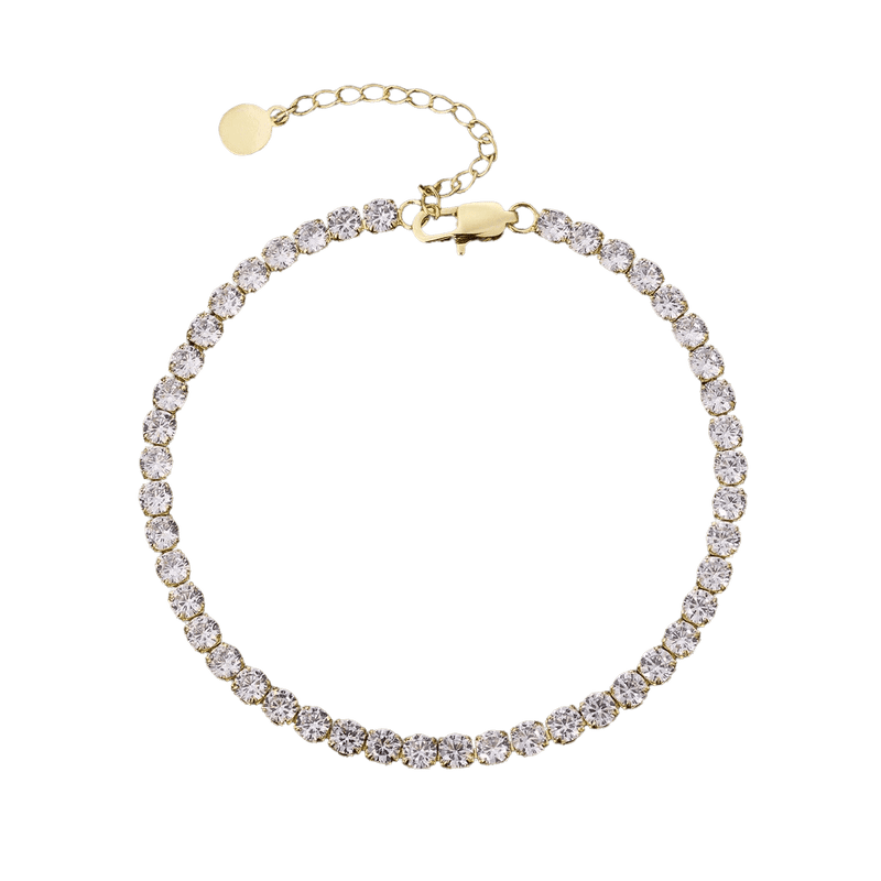 TENNIS CHAIN ANKLET - THE SUN JEWELERS