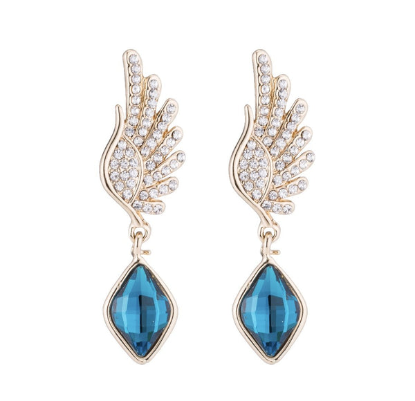 ANGEL FROM ABOVE DROP EARRINGS - THE SUN JEWELERS