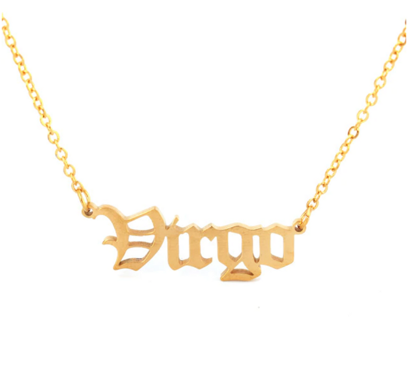WHAT'S YOUR SIGN NECKLACE