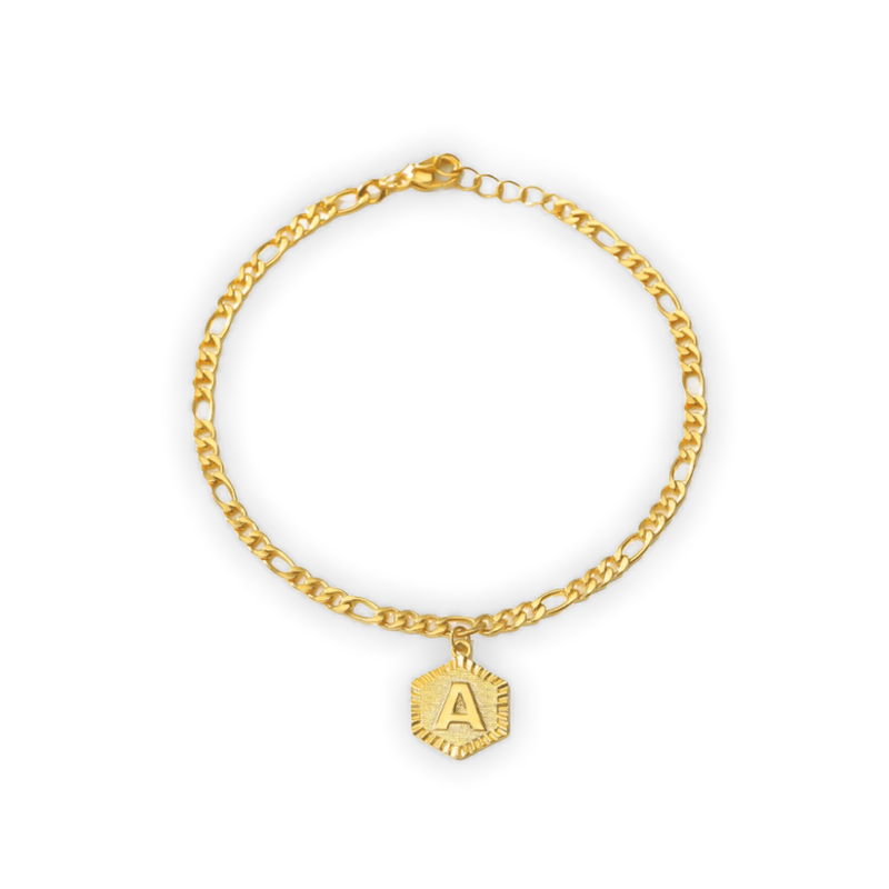 SAY MY NAME INITIAL ANKLET