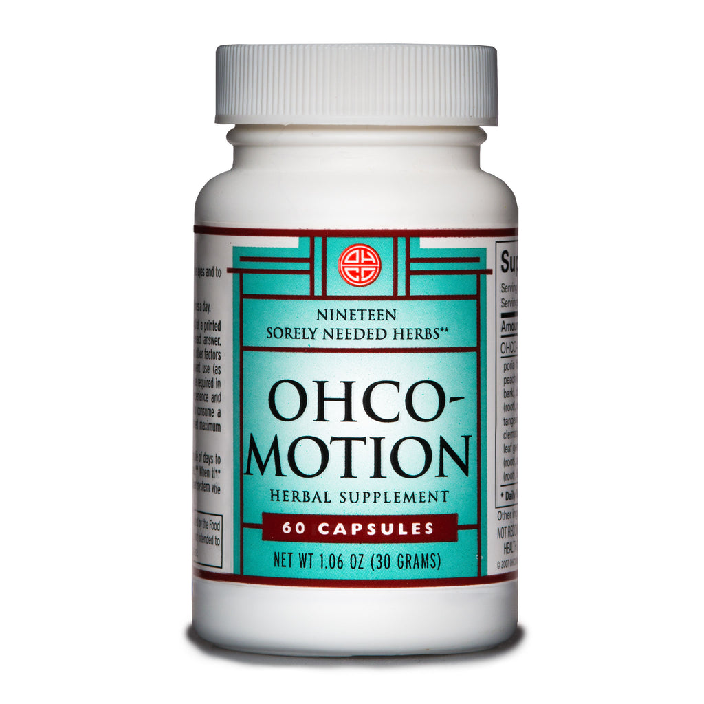 OHCO-Motion relieves pain, stiffness, and soreness from over-exertion, post-injury or aging bodies.