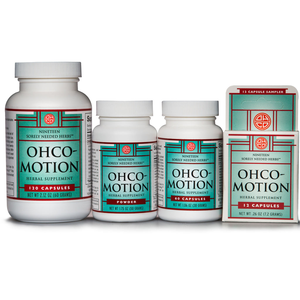 OHCO-MotionHerbal FormulasOHCO / Oriental Herb CoOHCO / Oriental Herb Company[variant_title]