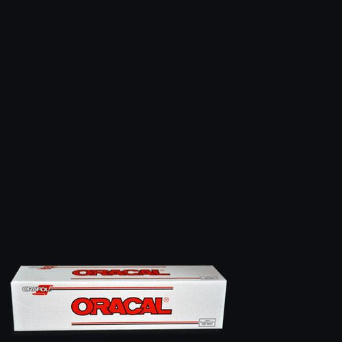 Oracal 651 Black Adhesive Vinyl
