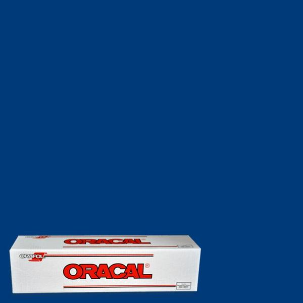 Oracal 651 Blue Adhesive Vinyl