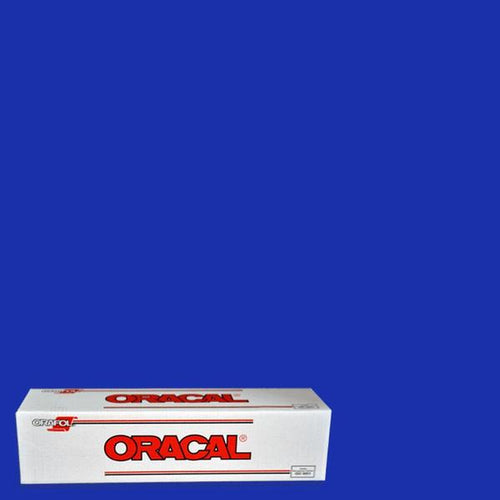 Oracal 651 Brilliant Blue Adhesive Vinyl