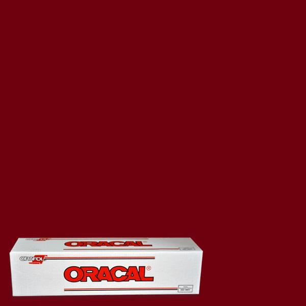 Oracal 651 Burgundy Adhesive Vinyl