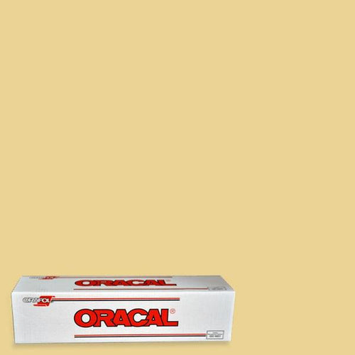 Oracal 651 Cream Adhesive Vinyl