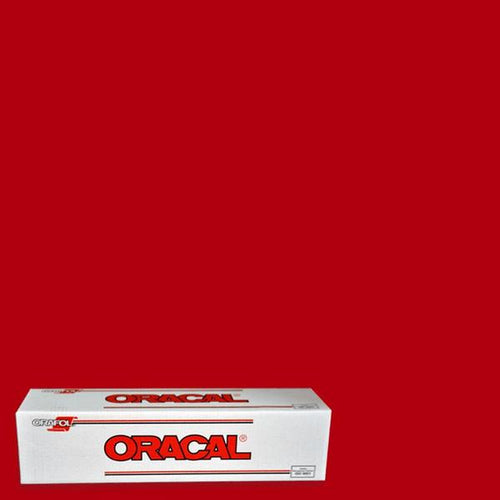 Oracal 651 Red Adhesive Vinyl