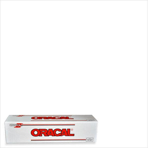 Oracal 651 White Adhesive Vinyl