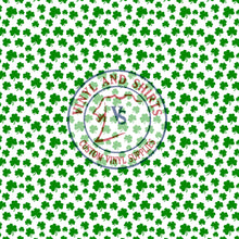 Load image into Gallery viewer, St. Paddy's Shamrock 2 Patterned Vinyl / Printed 651 Vinyl / Printed Vinyl /Printed Outdoor Vinyl /Printed Heat Transfer Vinyl