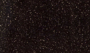Black Glitter HTV/  12 in x 20 in Sheet Heat Transfer Material  - Black glitter vinyl