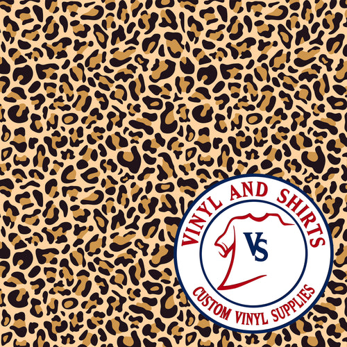 Leopard Patterned Vinyl
