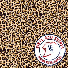 Load image into Gallery viewer, Leopard Pattern Vinyl / Printed 651 Vinyl / Patterned Vinyl / pattern Outdoor Vinyl / Pattern HTV/ Printed Heat Transfer Vinyl