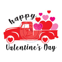 Load image into Gallery viewer, Valentine's Day Truck  SVG