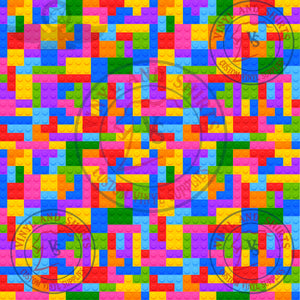 Toy Blocks 2 puzzle Patterned Vinyl/ Printed 651 Vinyl /Printed Outdoor Vinyl / Printed HTV/Printed HTV/ puzzle pattern vinyl