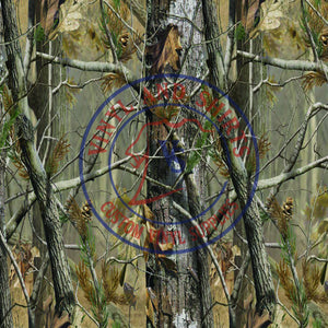 Real Camo Tree Pattern Vinyl
