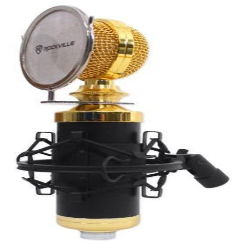 GRAB THIS NOW - CONDENSER MICROPHONE - DELIVERS QUALITY WITH NO DISTORTION FOR A WIDER RANGE OF HIGH & LOW FREQUENCIES
