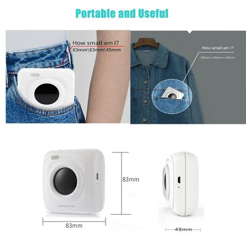 NOW FANTASTIC POCKET SIZED PHOTO PRINTER