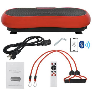 Vibration Plate Machine with Bluetooth Player