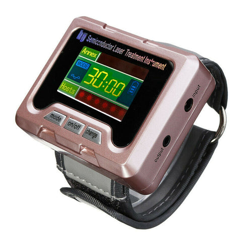 650nm Laser Therapy Wrist Apparatus High Blood Pressure Watch