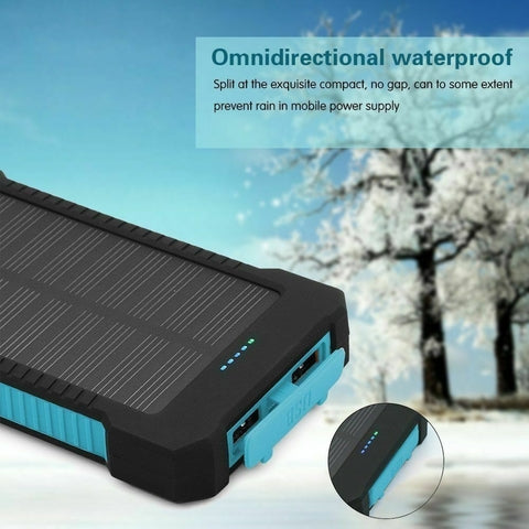 Portable Waterproof Solar Power Bank