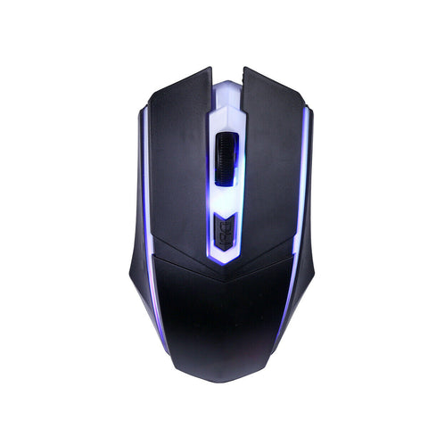 Waterproof Ergonomic RGB Gaming Mouse Black
