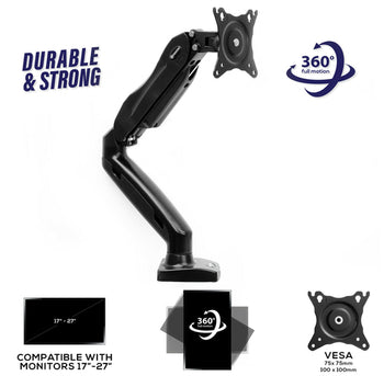 LCD Desk Mount Monitor Arm for Screens up to 27