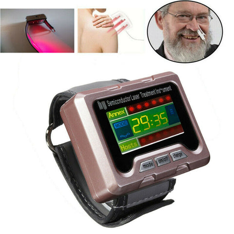 650nm Laser Therapy High Blood Pressure Watch