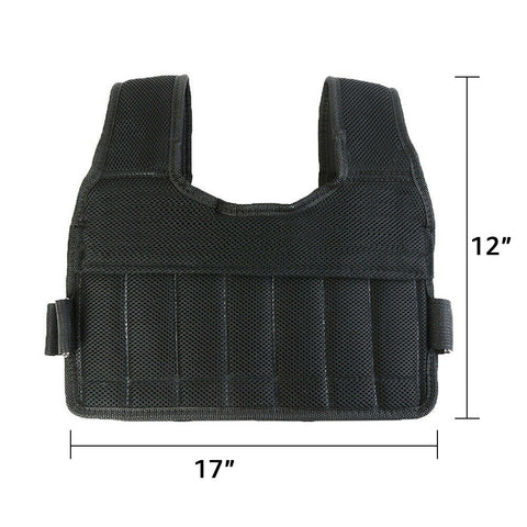 Gym Adjustable Weighted Vest