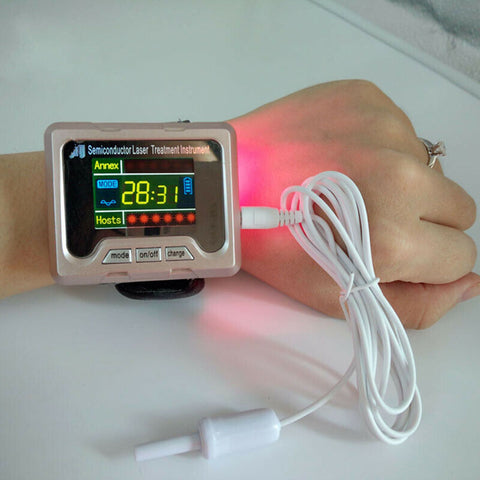 Laser Therapy High Blood Pressure Watch
