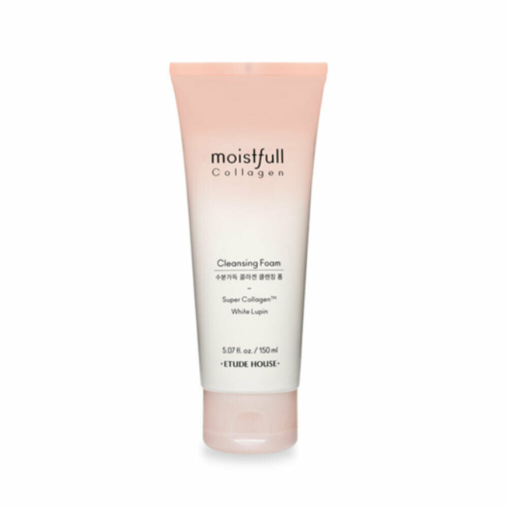 ETUDE HOUSE Moistfull Collagen Cleansing Foam - Misumi Cosmetics Nepal