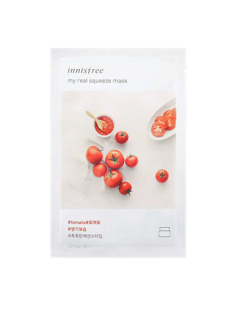 INNISFREE My real squeeze mask Tomato - Misumi Cosmetics Nepal