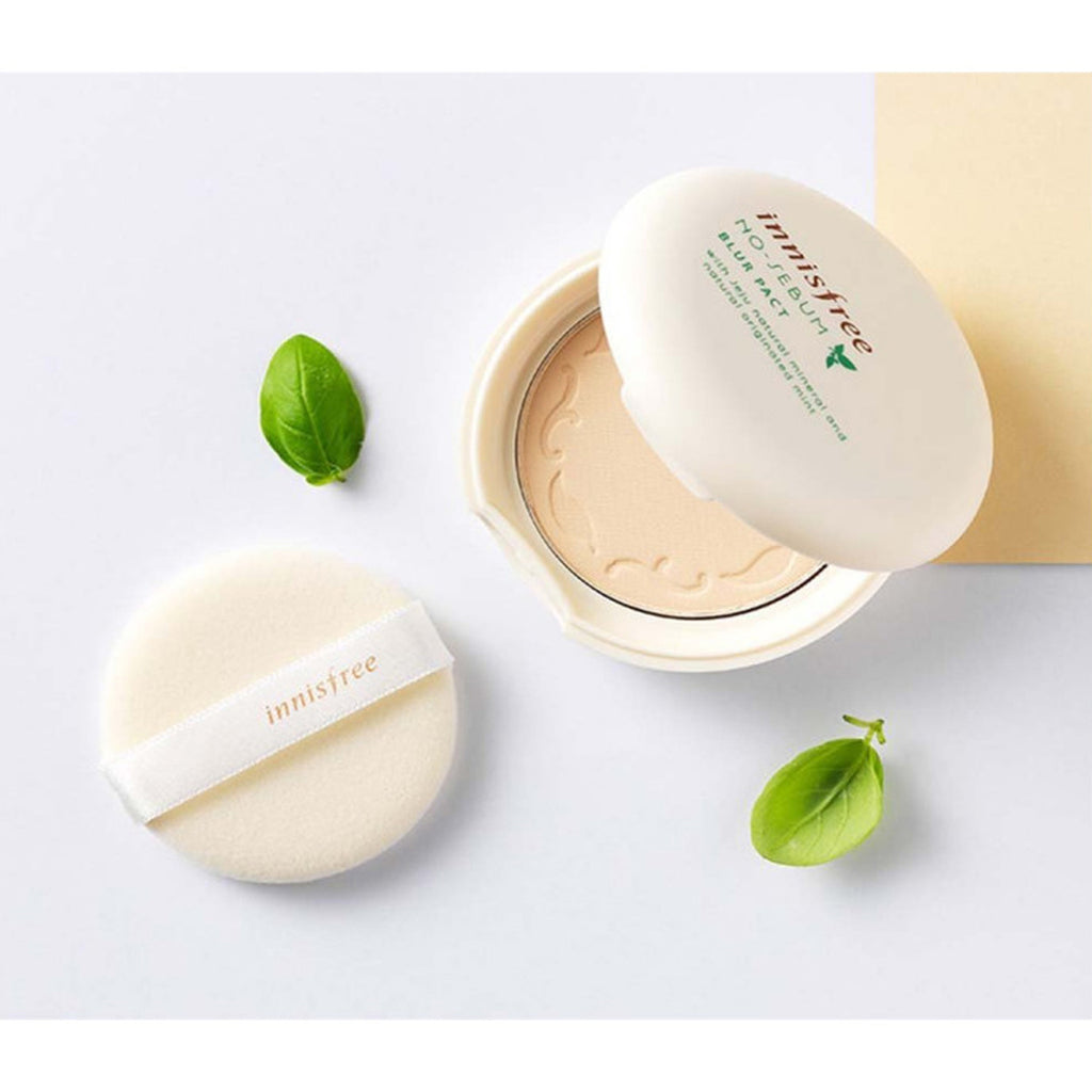 INNISFREE No-Sebum Blur Pact - Misumi Cosmetics Nepal